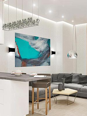 Двухкомнатная квартира для молодой семьи