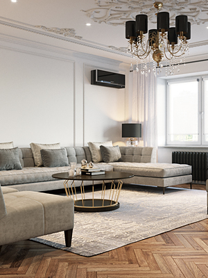 Четырехкомнатная квартира по ул. Авроровская